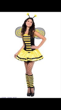 Women's bee costume size small