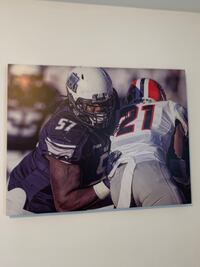 ODU Football Canvas Print  Norfolk, 23508