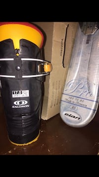 Kids skis and boots size 10.  Used once excellent condition South Berwick, 03908
