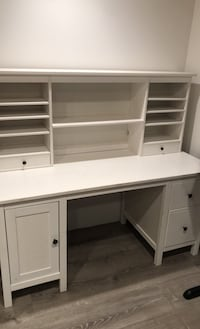 Desk with hutch from Ikea