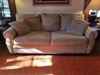 2 matching couches! 3-seater and loveseat!