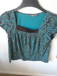 Women's shirt brown and blue  Spring Valley, 91977