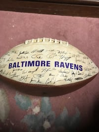 Super Bowl 35 collectible football Westtown, 19382