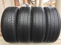 4 tires all season Yokohama size 225/65/R17 Brampton, L6R 0K7