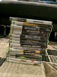assorted-title Xbox 360 game case lot Mississauga, L5K 2R4
