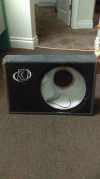 "Kicker Truck Speaker Box for 12"" Sub Oklahoma City, 73109"