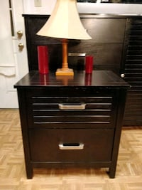 Nice wooden big night stand big drawers in very go Annandale, 22003