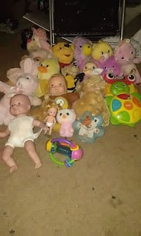 assorted animal plush toy collection Moberly, 65270