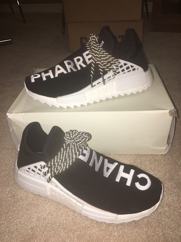 b5c7f303f Used UA Chanel Human race NMD adidas boost shoes for sale in Kitchener -  letgo