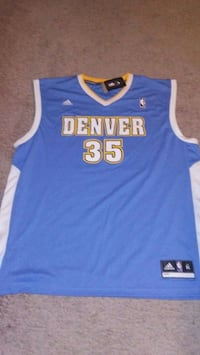 Denver Nuggets Kenneth Faried basketball jersey Lakewood