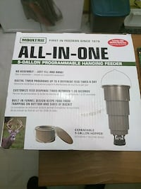 Moultrie all-in-one 5-gallon programmable hanging  Bangor, 04401