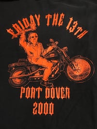 Vintage Friday 13th t shirt Harley Hamilton, L9C 6J6