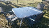 Patio table with chairs PRICE DROP!!