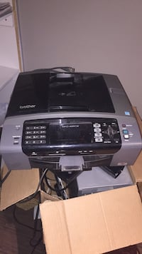 black and gray HP multi-function printer Quinte West, K8V 5P8