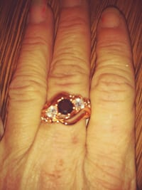 14kt Rose Gold Ladies Ring Sz8 Anderson, 29624