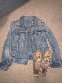 New talula Jean Jacket and Sperry Top Sider Shoes  Waterloo, N2T 2Y7