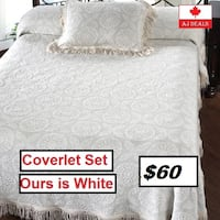 AJ- BRAND NEW- Keishasha Coverlet Collection Mississauga