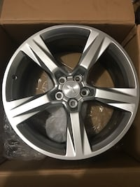 3 brand new GM wheels. Fits 2016-2020 Camaro SS, 4,6, & 8 cylinders.