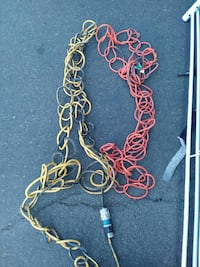 orange and yellow cable