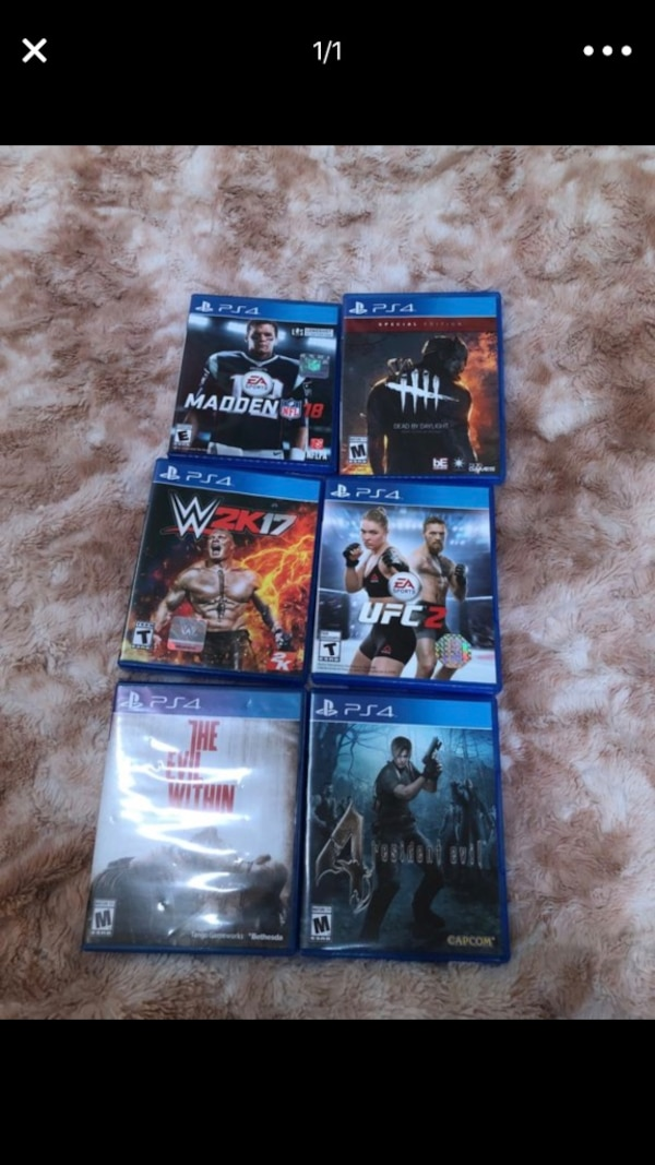 PS4 Game lot ! Message for details!