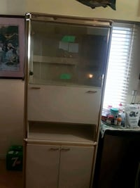 stainless steel framed glass display cabinet Vancouver, V5R 1W7