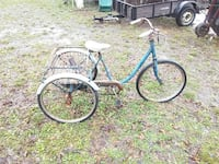 Old 3 wheel bike needs to be restored its complete Rome, 30161