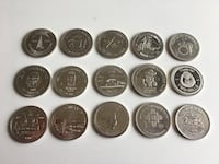 Lot of 15 - 1970s to 1980s Vintage City Trade Dollars and Medallions Calgary, T2R 0S8