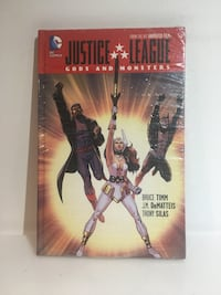 Justice League Gods of Monsters