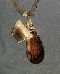 Pendant necklace with scarf holder Glenn Dale, 20769
