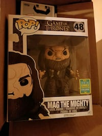 Mag the Mighty funko pop sdcc 16 Calgary, T2W 4N7