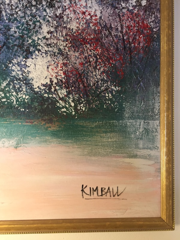 cd5a92b11866 Original Oil Painting signed by the Artist
