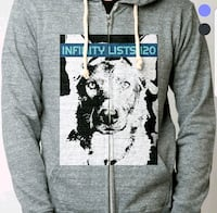 gray and black The North Face pullover hoodie Doraville, 30340