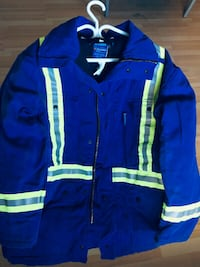 High Vis.  Fire Retardant   Insulated Work Jacket  - Large