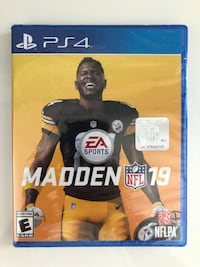 Madden nfl 19 NEW PS4 sealed Mooresville, 28117