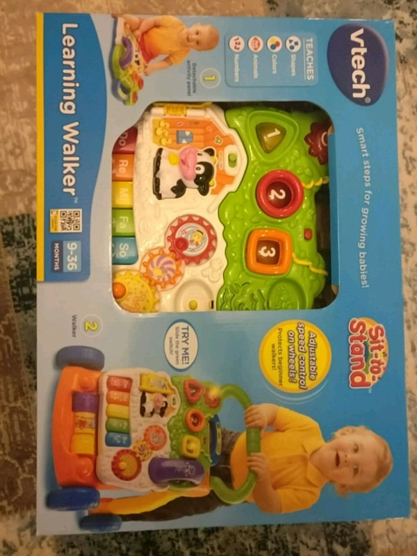 New vTech Sit to Stand Learning Walker
