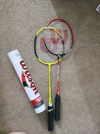white and red Wilson tennis racket Alexandria, 22314