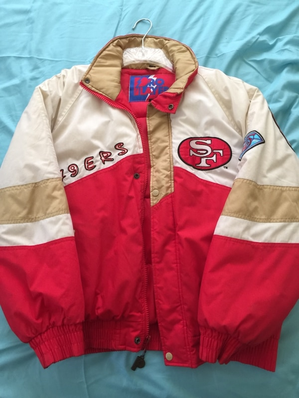da2d8327456c Used San Francisco 49ers Pro player jacket for sale in La Puente - letgo
