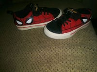 pair of red-and-black Nike sneakers Durham, 27704