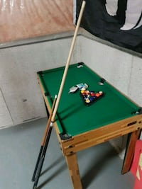 Small pool table  Ontario, L7E 2G6