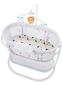 Fisher price soothing bassinet Toronto, M9A 4X8