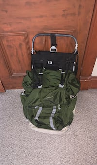 Heavy duty camping backpack
