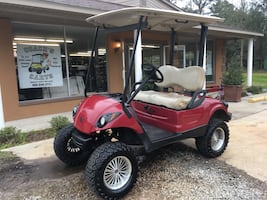 Gas Yamaha golf cart