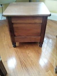 Antique Walnut Footstool