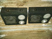 "6"" speakers with tweeters box  Albuquerque, 87184"