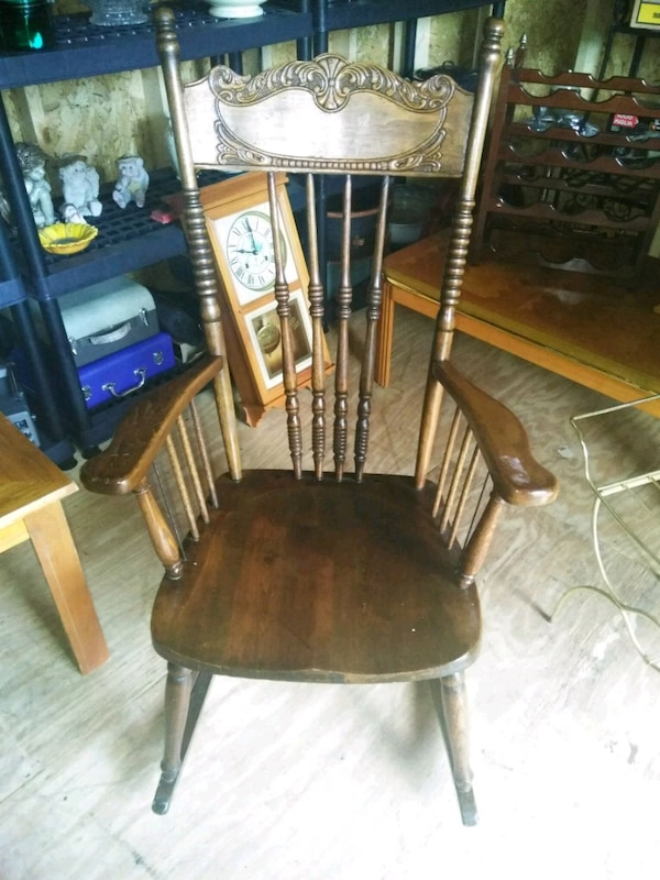 Used Vintage Rocking Chair For Sale In Grand Prairie Letgo