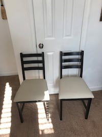 Two IKEA desk chairs