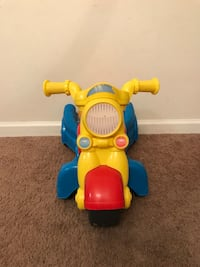 Fisher price walker/ride on motorcycle Toms River, 08753