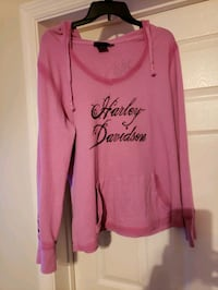 Ladies 16-18 used Harley davidson hoody