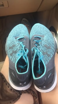 pair of teal Nike running shoes Travelers Rest, 29690