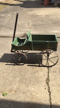 Here is a nice child's play wagon all hand made Zanesville, 43701